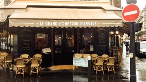 restaurant le grand comptoir d anvers 224 75009