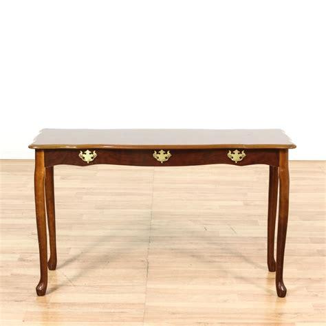 rustic trestle console table rustic wood trestle sofa table console loveseat