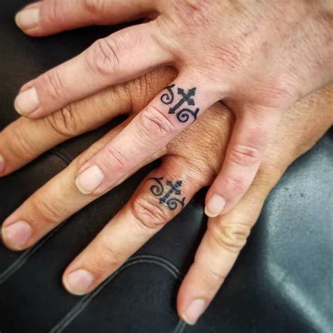 cross ring tattoos 12 religious cross tattoos 30 touching and sweet