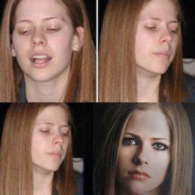 35 Shocking Pictures Of Without Makeup by 6 Avril Lavigne 35 Shocking Pictures Of