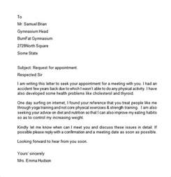 Appointment Letter Request Appointment Letter 7 Free Samples Examples Format