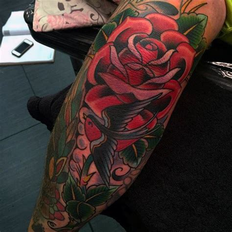 rose tattoo elbow top 100 best tattoos for masculine design ideas