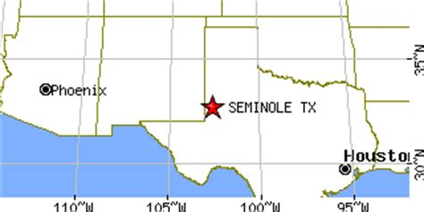 seminole texas map seminole texas tx population data races housing economy