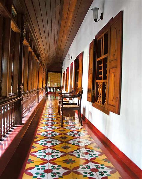 kerala home design tiles athangudi tiles chettinadu style interiors