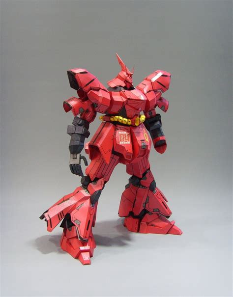 Papercraft Website - papercraft sazabi photoreview no 12 big size images gunjap