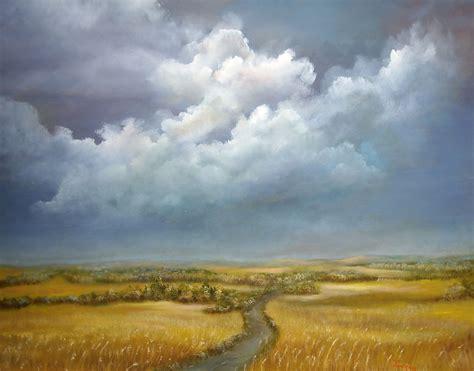 Landscape Artists Fields Impressionist Landscape Paintings
