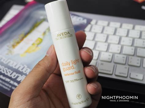 aveda daily light guard reviews mini review ก นแดดพล งจากธรรมชาต aveda daily light guard