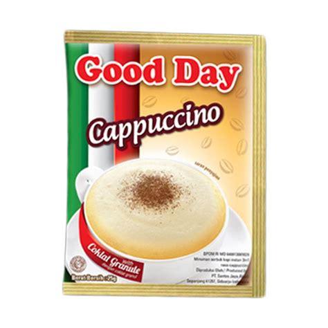 Day Chococinno Isi 5 Sachet Kopi Instan Goodday Jual Day Cappuchino Kopi Instan Harga