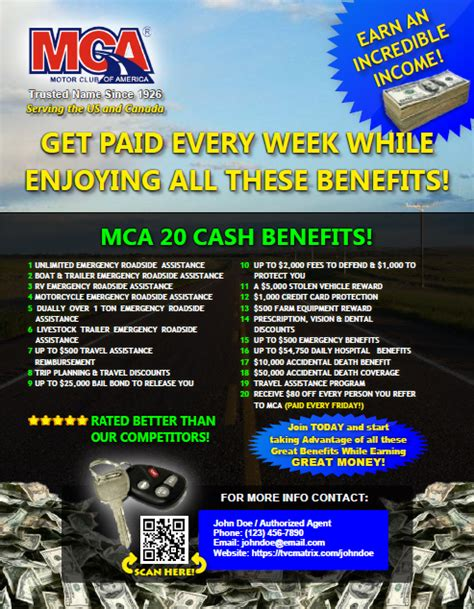 motor club of america flyers version 2