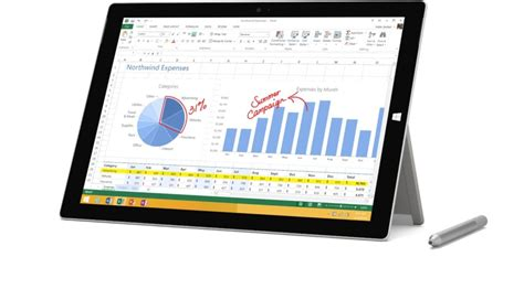 Microsoft Surface Pro 3 I3 top 20 best tablets in the market today reviews 2017