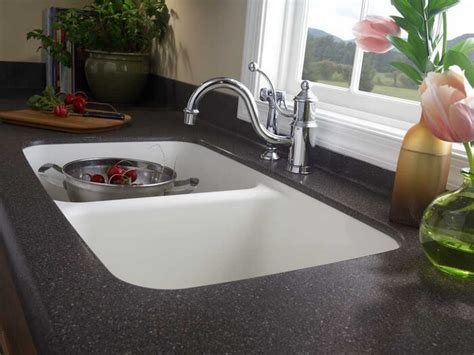 Corian Integrated Sink by 850 Corian Sink