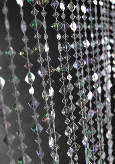 crystal beaded curtain iridescent crystal beaded curtains 3ft x 6ft