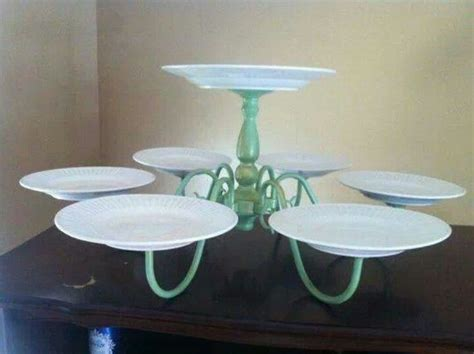 Diy Chandelier Cake Stand 1000 Images About Recycled Cake Stand Ideas On Diy Cake Woodland Cake And