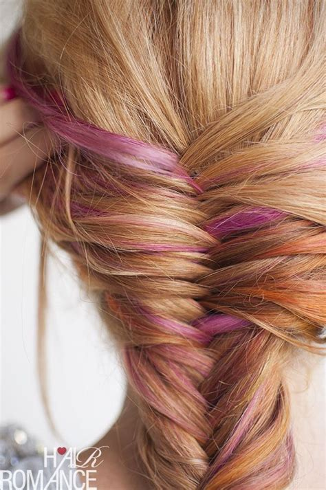 adding color to braids for highlights 57 best rose quartz hair pantone color of the year 2016