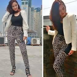 Meisha Maxi zhina berry zara navy blue jacket paisley print meisha