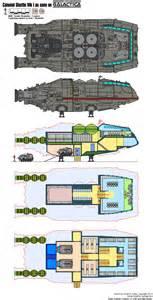 battlestar galactica floor plan star trek deckplan federation