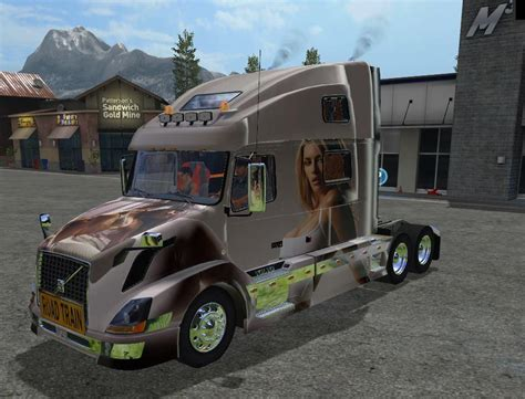 volvo truck and trailer trucks and trailers pack by lantmanen fs 17 farming