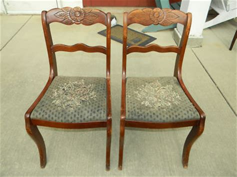 Sofa Balikpapan pair of tell city mahogany carved dining chairs antiqu on carved wooden sofa