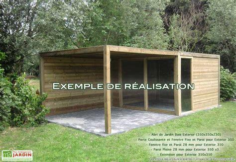 paroi jardin abri de jardin bois exterior 350x350x230 sapin abris de jardin et abri en bois