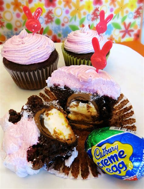 easter desserts cadbury creme egg cupcakes recipes fun easter dessert for