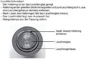 Bad Lampe by Phoenix Einbaustrahler Leuchtmittel Wechseln Wohnmobil Forum