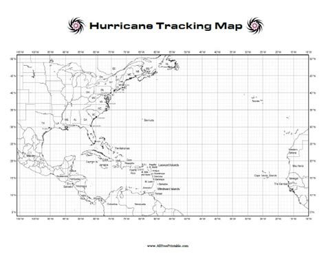 printable hurricane images hurricane tracking map free printable allfreeprintable com