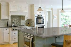 delightful Black And Grey Kitchen Designs #9: kitchens-with-white-tile-countertops.jpg