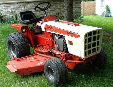 Simplicity Garden Tractors by Details About Simplicity 6118 Garden Yard Tractor With