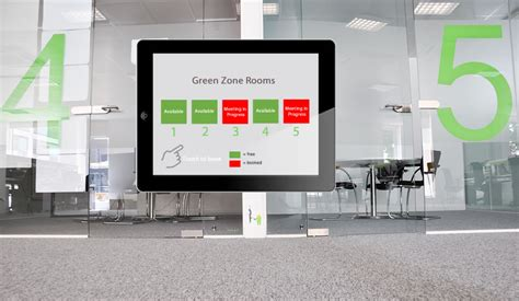 meeting room display screen touch screen solutions for meeting room desk booking essential
