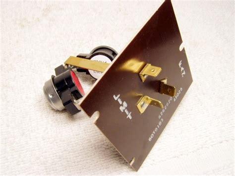 Switch Fan Mobil 626292 fan limit mobile home repair