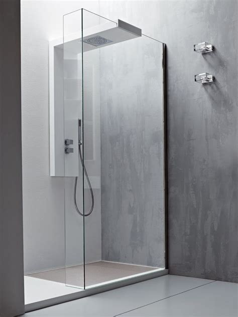 modular glass shower wall panel argo  rexa design