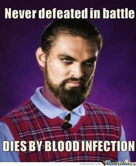 Khal Drogo Meme - hunger games bad luck brian memes best collection of