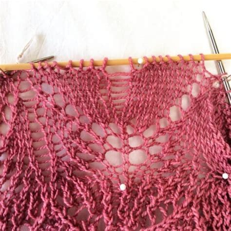 how to fix a mistake in knitting fixing a mistake in lace knitting la visch designs