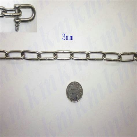 selling items ordinary links chain aisi304 stainless