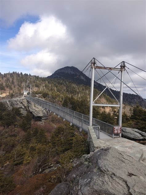grandfather mountain swinging bridge 17 best images about north carolina usa on pinterest