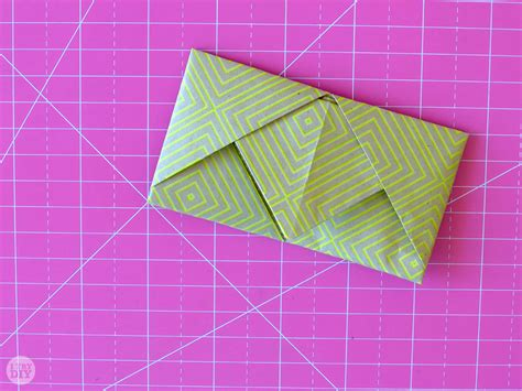 Creative Ways To Fold Paper - how to fold a letter into a pull tab note i try diy