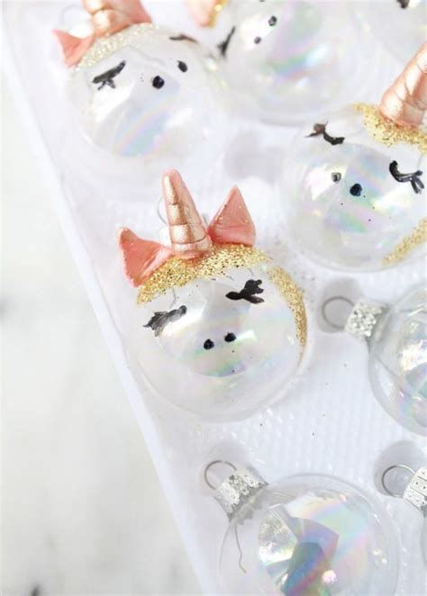 unicorn christmas tree topper unicorn ornamnets diy posh designs
