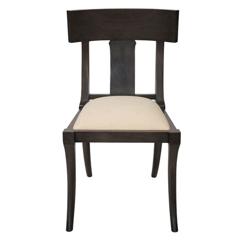 Black Wooden Dining Chairs - tabor global bazaar black wood dining chair kathy kuo home