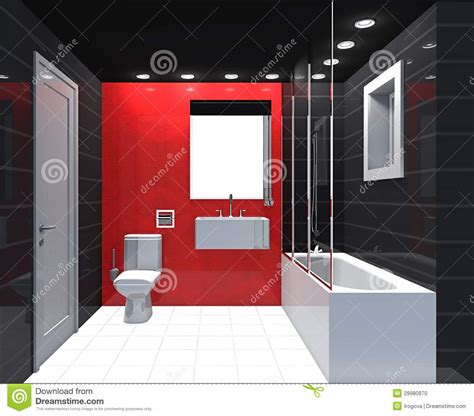 Black And White Tiled Bathrooms Modernt Lyxigt Badrum Arkivfoto Bild Av Inomhus Spegel
