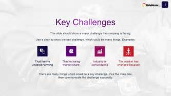 Powerpoint Study Template by Key Challenges For The Study Analysis Slidemodel