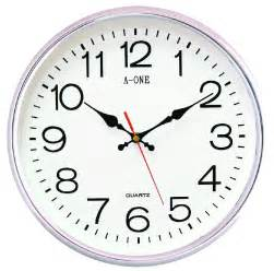 Simple Clock by Wall Clock On Wall Viewing Gallery