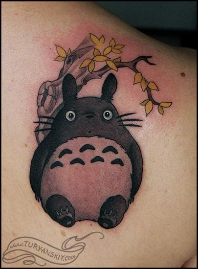 totoro tattoos totoro by oleg turyanskiy tattoos