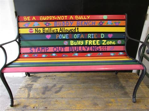what is a buddy bench 17 best images about buddy bench on pinterest children