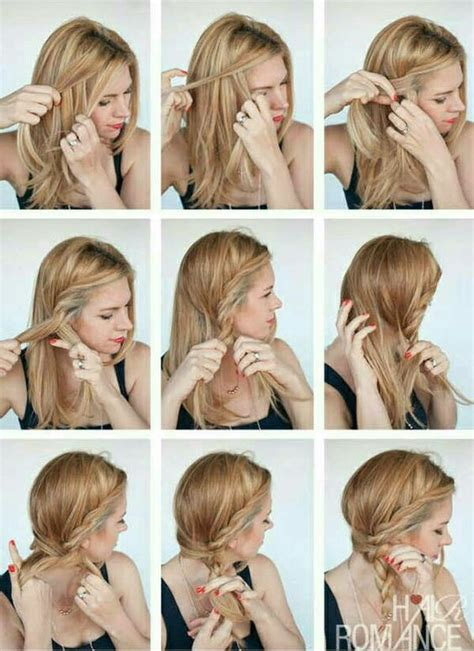 how to do the twist braid step by step side rope braid hair pinterest rope braid braids