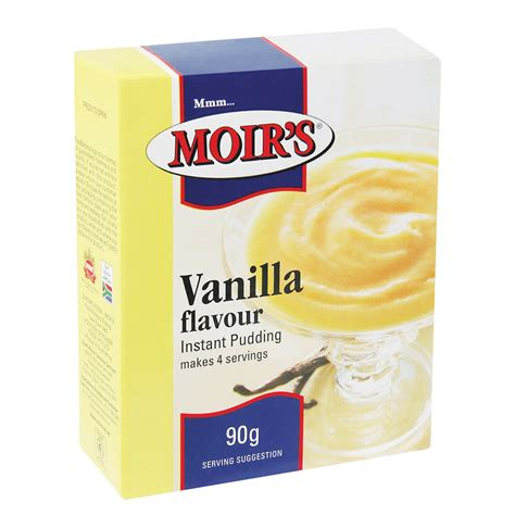 Instan Vanila 1 moirs 48 x 90g instant pudding vanilla lowest prices specials makro