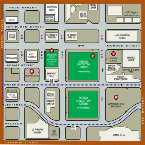Anaheim Convention Center Floor Plan by Phoenix Convention Center North Building Floor Plan