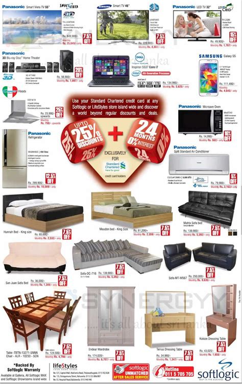 softlogic lifestyle home appliances and furniture prices