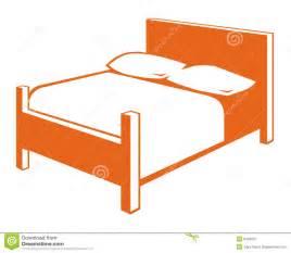bed symbol bed symbol stock image image 9416331
