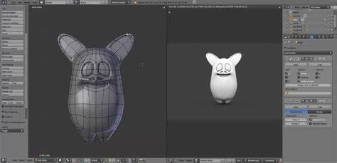 blender x3d tutorial modeling a cartoon character in blender