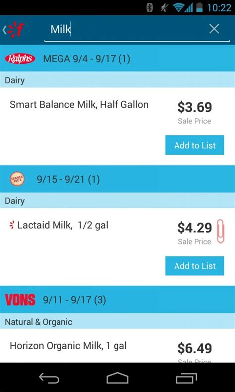 printable grocery list app free mobile grocery list and savings all in one